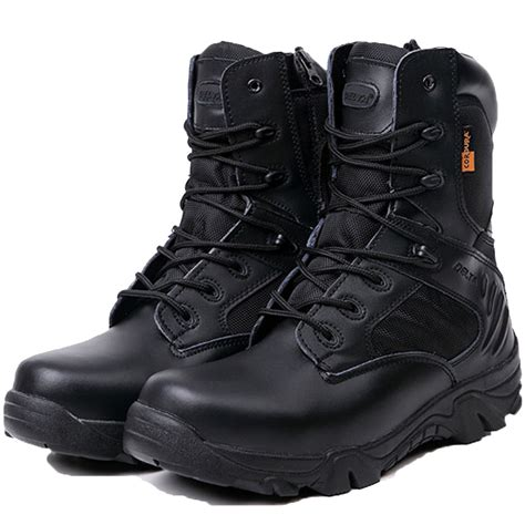 Men's Desert Jungle Boots Military Combat Tactical Boot Duty Work Shoe
