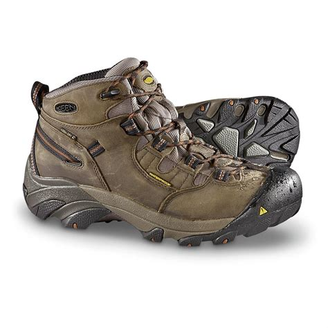 Men's Detroit Mid Soft Toe Work Boot