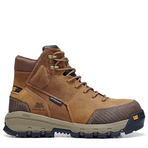 Men's Device Comp Toe Waterproof/Dark Beige Work Boot