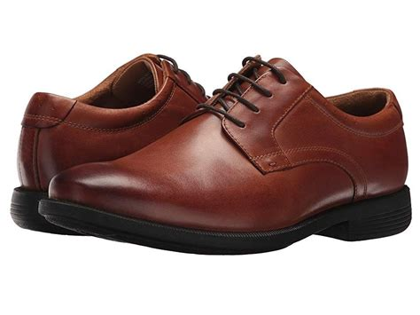 Men's Devine Plain Toe Lace Up Oxford with Kore Comfort Technology