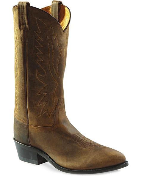 Men's Distressed Polanil Western Cowboy Boot - Ow2051