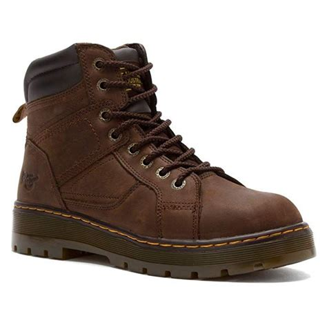 Men's Duct 8 Eye Lace To Toe Steel Toe Boot