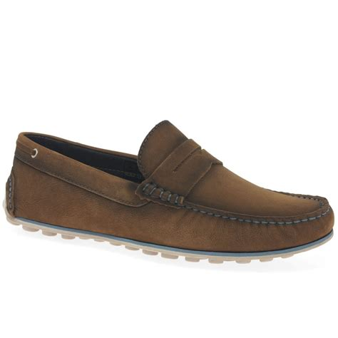Men's Dynamic Suede Penny Loafer