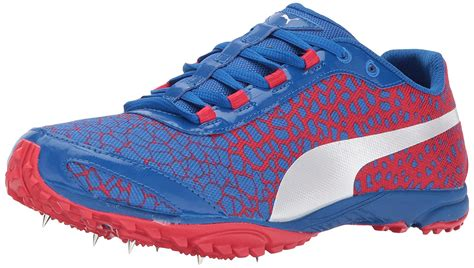 Men's Evospeed Haraka 4 Track-Shoes, Lapis Blue-Toreador, 9.5 M US