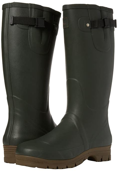 Men's Field Welly Neoprene-Lined Rain Boot