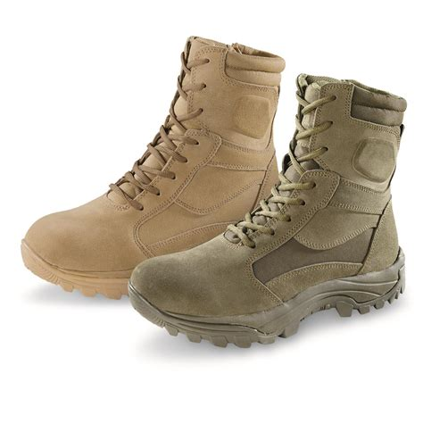 Men's Force 8' Waterproof Military and Tactical Boot