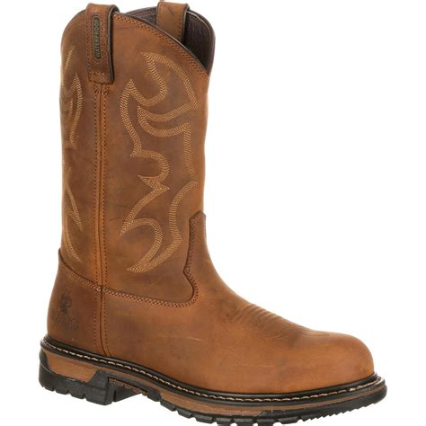 Men's Fq0002733 Western Boot