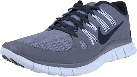 Men's Free 5.0+ Breathe Running Cool Grey Grey / Anthracite / White Synthetic Shoe - 8.5 D(M) US