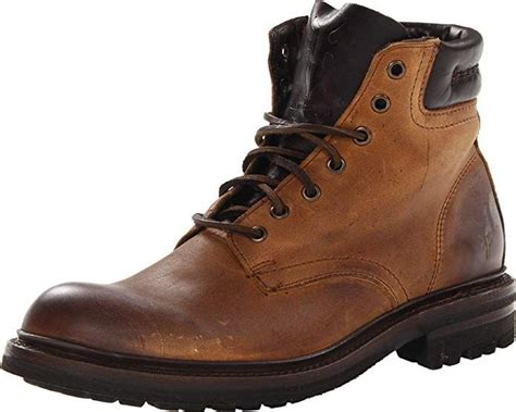 Men's Freemont Lace-Up Work Boot Round Toe - 87188-Dbn