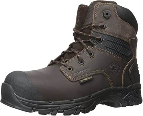 Men's Full Grain Brawny Work-Tek Waterproof Composition Toe-M Workboot