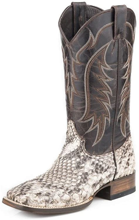 Men's Giant Python Western Boot Square Toe - 12-020-8838-3601 Ta