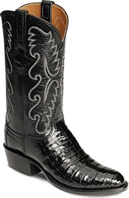 Men's Handcrafted Classics Caiman Ultra Belly Cowboy Boot - Gb5953.73