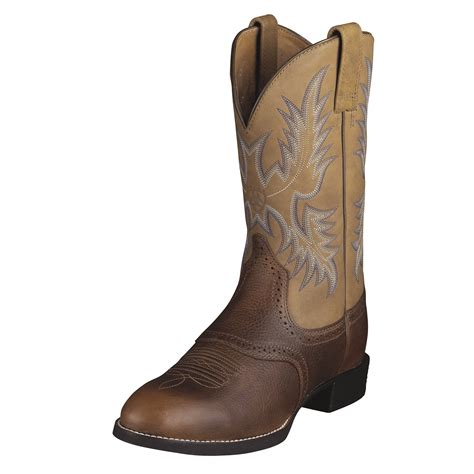 Men's Heritage Stockman Western Cowboy Boot