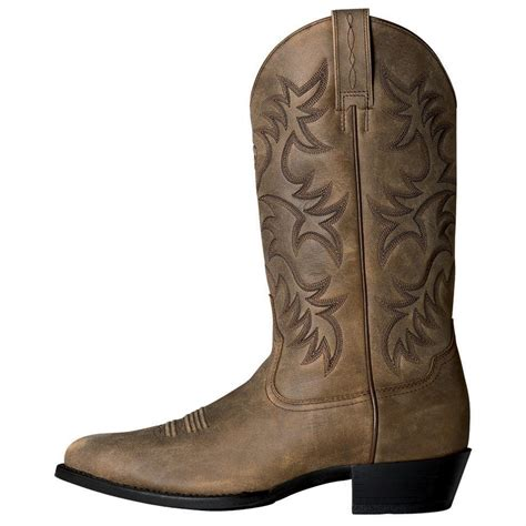 Men's Heritage Western R Toe Cowboy Boot
