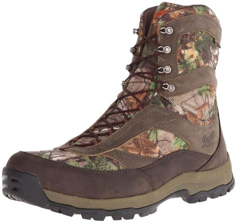 Men's High Ground 8' Realtree Xtra Hunting Boot,Brown/Green,9.5 EE US