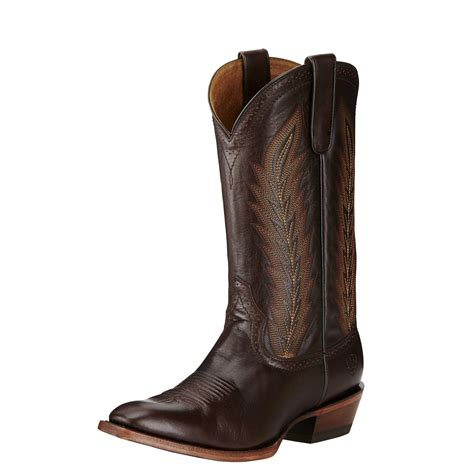 Men's High Roller Western Cowboy Boot, Bittersweet Chocolate, 12 D US