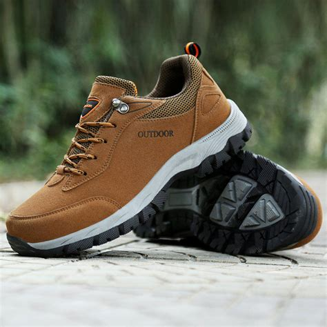 Men's Hiking Shoe Outdoor Waterproof Walking Trekking Sneaker HKL815