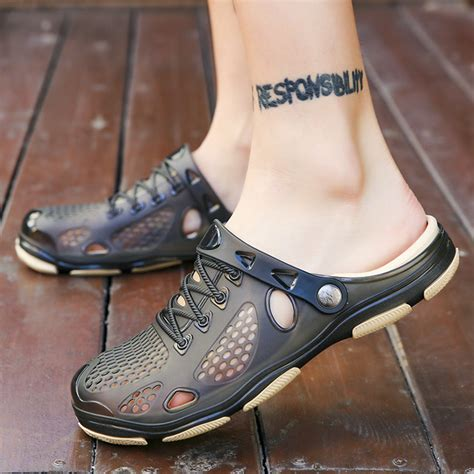 Men's Hole Shoes Summer Classic Sandals Cool Slippers