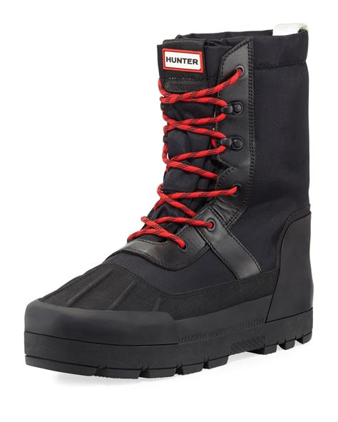 Men's Hunter Snow Boots & Toe warmers Bundle