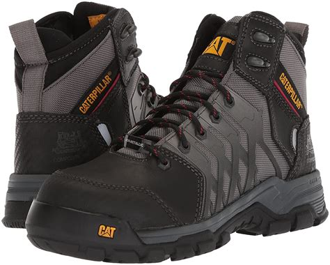 Men's Induction Waterproof Nano Toe Brown Industrial Boot