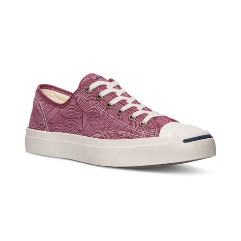 Men's Jack Purcell Jack Ox Casual Sneakers From Finish Line