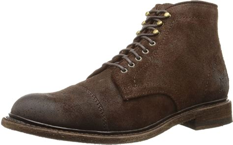 Men's Jack Waxed Suede Combat Boot