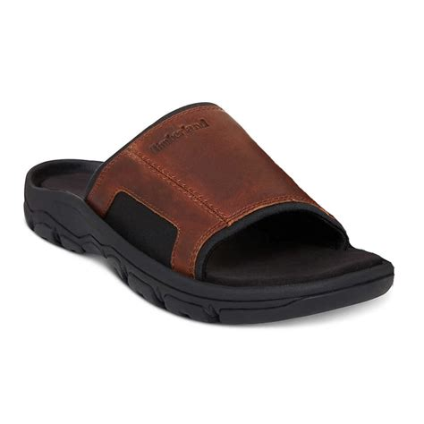 Men's Jackson Brown Slide Sandal