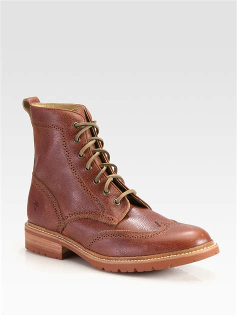 Men's James Lug Wingtip Boot
