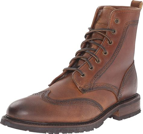 Men's James Lug Wingtip Combat Boot