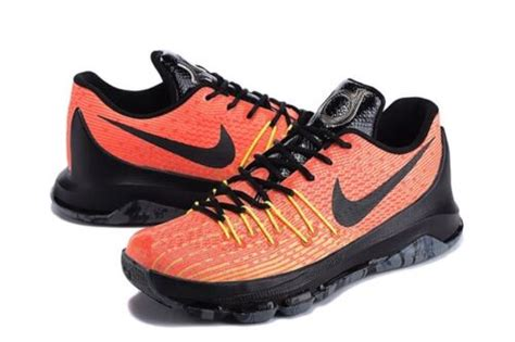 Men's KD 8 Basketball Shoes Orange 749375-807 (11)