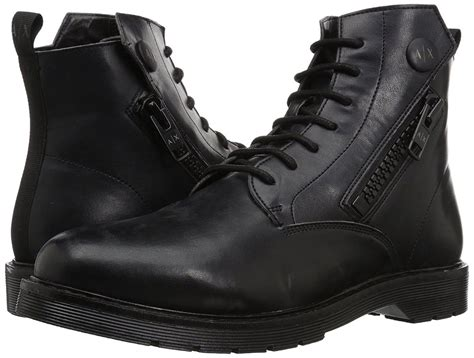 Men's Lace up Side Zip With Sole Detail Military and Tactical Boot