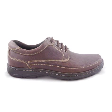 Men's Lace-up Casual Shoes in Leather