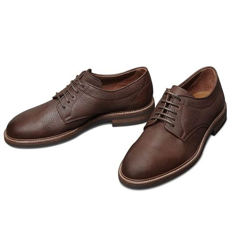 Men's Leather Dress Elevator Derby Shoes 3.15 inches Height Increasing Insoles AH62D11K011D