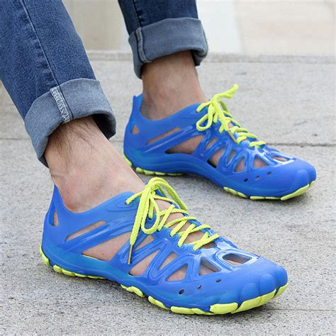 Men's Lightweight Rubber Slipper Slide Sandal