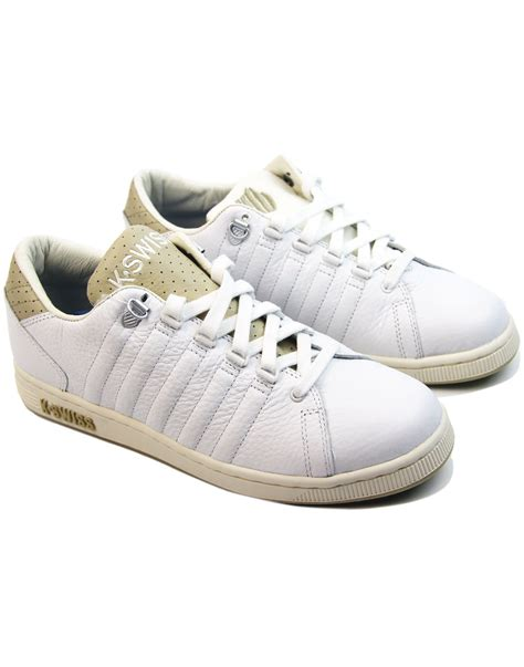 Men's Lozan III TT Trainers, White