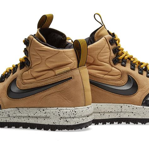 Men's Lunar Force 1 Low Duckboot Brown/White/BLACKNEW!