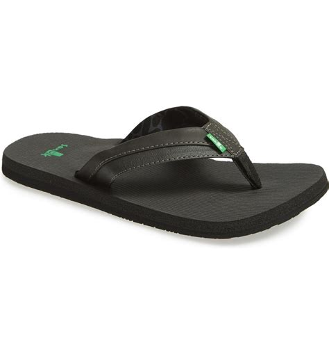 Men's M Beer Cozy Ultra Flip Flop