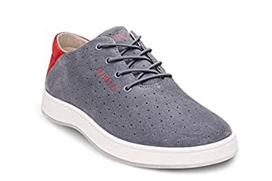 Men's Maximus Supreme / Premium Nubuck Leather Low Top Shoe