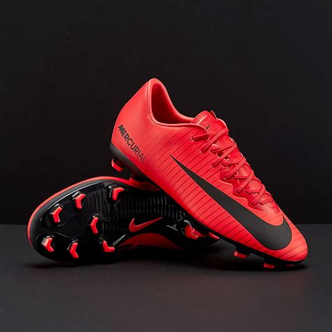Men's Mercurial Vapor XI FG Cleats – (University Red/Black) Size: 12