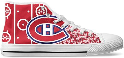 Men's Minnesota Hockey Custom Fan Made High Top Canvas Shoes