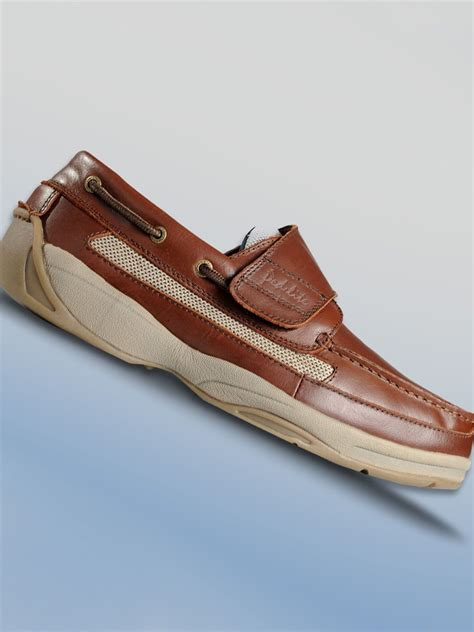 Men's Neuropathy Boat Shoe - Oliver