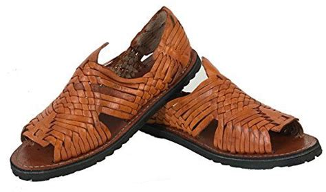 Men's New Leather Soft Woven Handmade Sandals Flip Flop Slip Huaraches Brown
