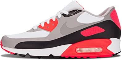 Men's Nike Air Max 90 V SP 'Patch' Running Shoes - 746682 106, White/Cool Grey-Infrared - Size 10.5 D(M) US
