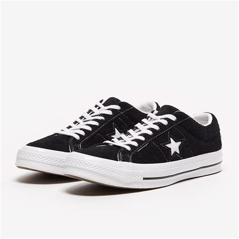 Men's One Star Suede Ox Sneakers, Black, 8 D(M) US