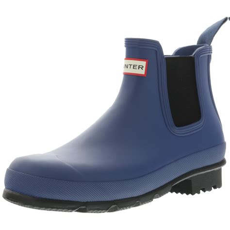 Men's Original Chelsea Dark Sole RMA High-Top Rubber Rain Boot