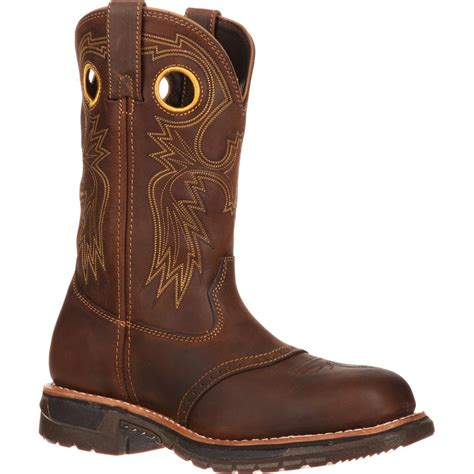 Men's Original Ride Steel-Toe Trail Work Boot