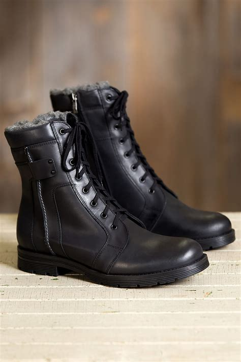 Men's Overland Renegade Wool-Lined Leather Boots