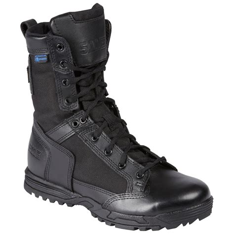 Men's Patrol 6' Tactical Duty Work Boot With Zipper