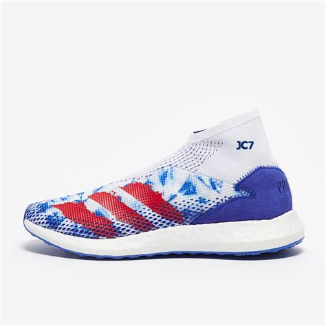 Men's Pharrell Williams Human Race White/White/Blue 8 D US