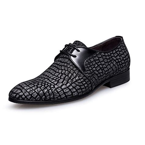 Men's Pointed Toe Suede Leather Dress Shoes Casual Oxford